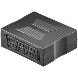 Scart adapter female - female. For extension of Scart cable.