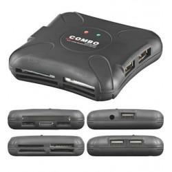 Kortlæser USB 2.0 - En smart ekstern hukommelseskortlæser.