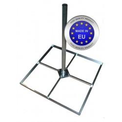Hollændermast til 4 stk 50x50 cm. fliser. Varmgalvaniseret.