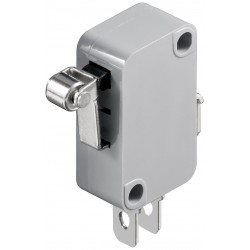 Microswitch med metalrulle 5A/250V