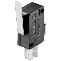 Microswitch med lige arm 5A/250V