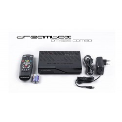 Dreambox HDTV DM525 Combo Parabol, kabel og antenne TV - 1xDVB-S2+1xDVB-C/T2 tuner