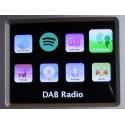 PTEC Pilatus II digital radio - DAB+, FM, MP3, CD, Internetradio, Spotify, UPnP, DLNA. Stor lyd-Lækkert design.