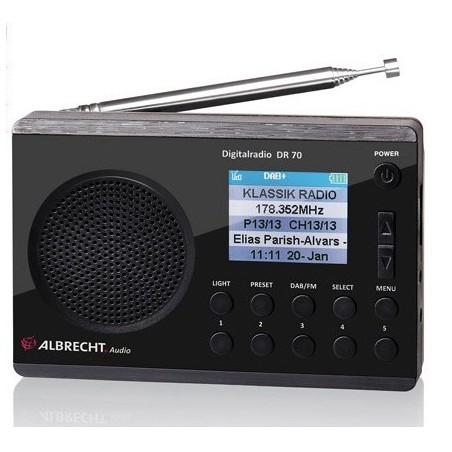 DAB+ Radio DR 70