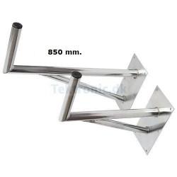 TEK78 Angle bracket ALU 600 mm. reinforced.