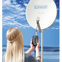 SAT finder HD - DIY Satellite dish adjustment.
