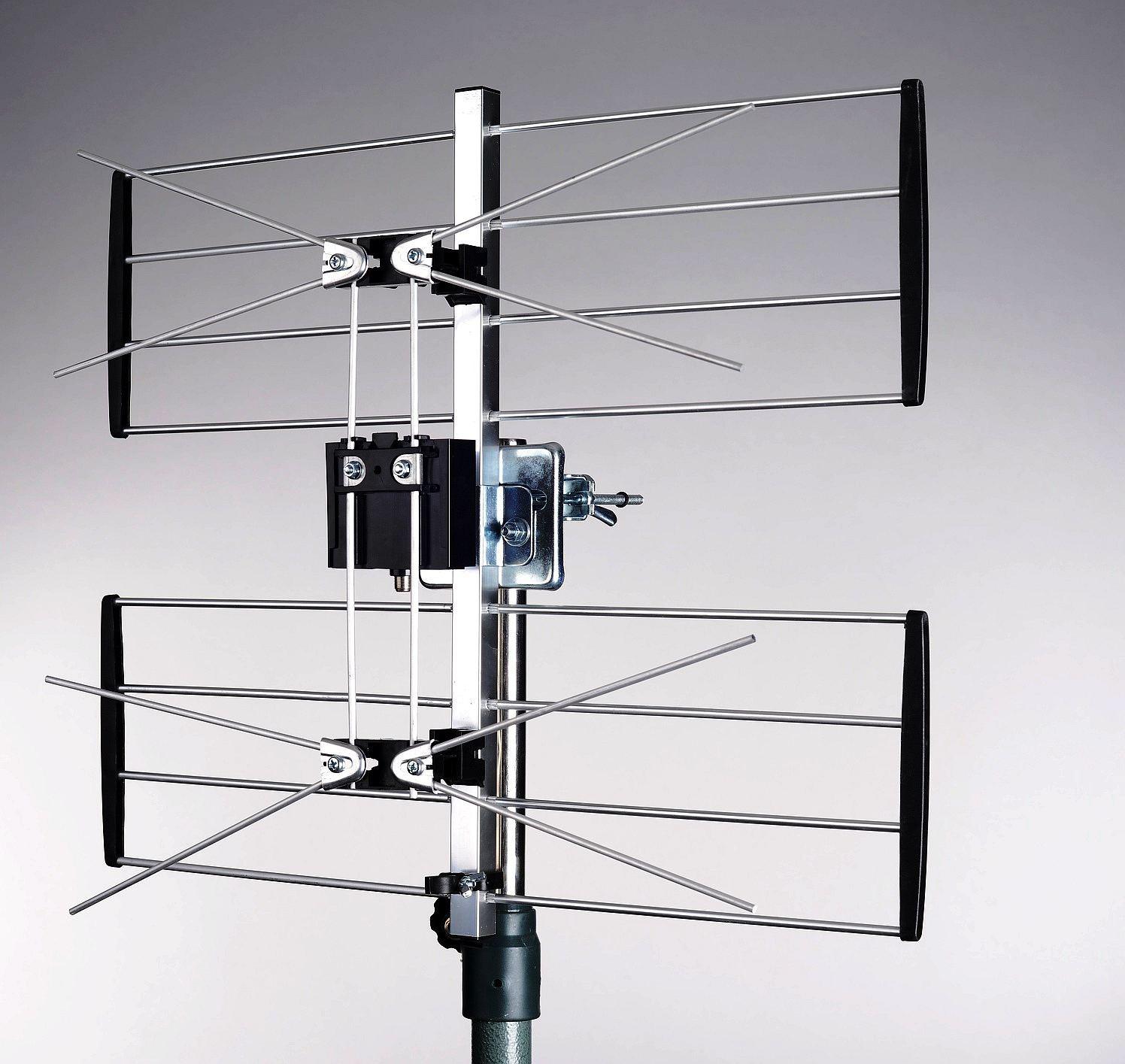 tv antenne uhf 2 gitterantenne 4g lte filter maximum. Black Bedroom Furniture Sets. Home Design Ideas