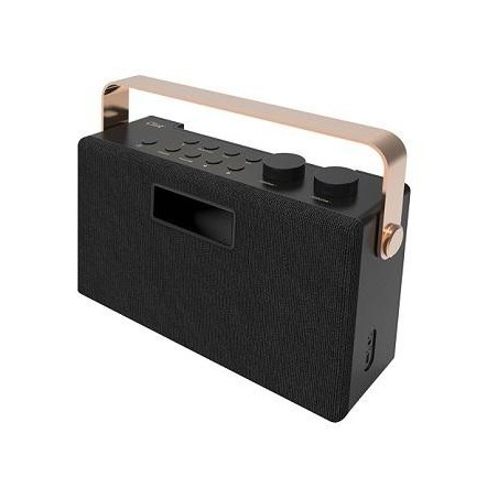Clint F7 DAB+/FM stereo bord radio med Bluetooth. Sort.