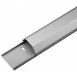 Kabelbakke aluminium 50 mm. 1.1 meter sølv