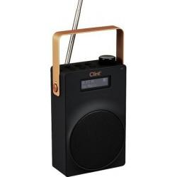 DAB/DAB+ og FM radio Clint F6 - med genopladeligt batteri.