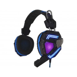 Cyclone headset med LED lys og farveskift