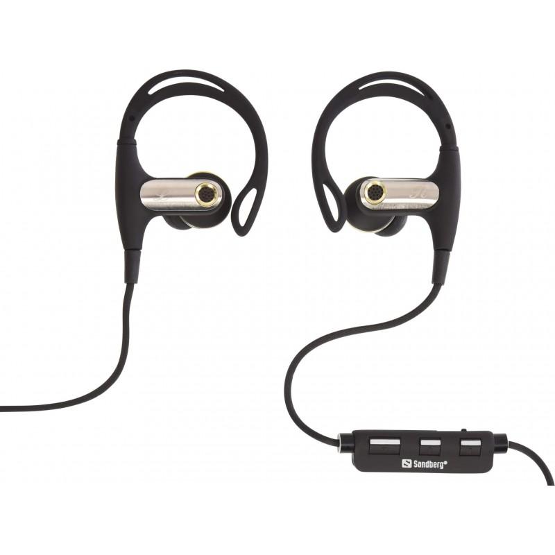 Sandberg Bluetooth Sports Earphones - god lyd og holdbarhed, perfekt til løbere.