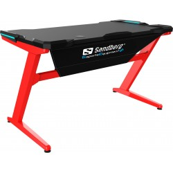 Sandberg Fighter Gaming Desk LED light