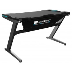 Sandberg Fighter Gaming Desk med LED lys