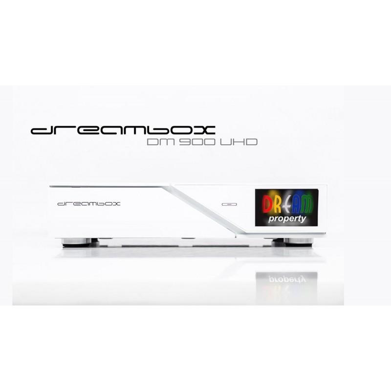 Dreambox DM 900 UHD 4K leveres med multifunktion fjernbetjening, type RCU10.Dreambox DM900 UHD 4K E2 Linux digitalmodtager 1x DV