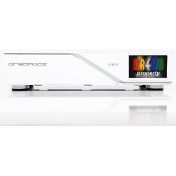 Dreambox DM900 UHD White Edision Kabel TV og Antenne TV Dual Tuner