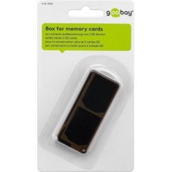 Opbevaringsbox til SD, Micro SD og MMC hukommelseskort