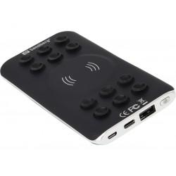 Powerbank 6000 Qi trådløs opladning og  USB-C