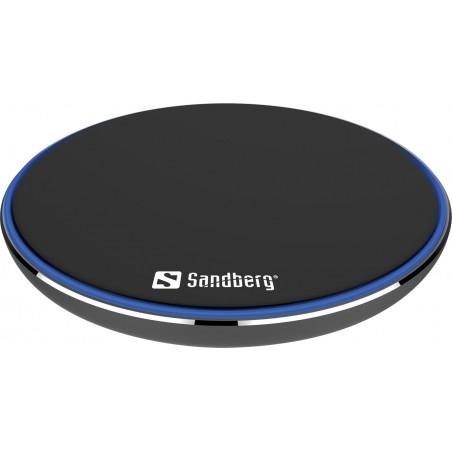 Trådløs opladning - Wireless Charger Pad 10W Alu