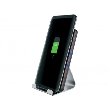 Trådløs oplader Alu Dock 10W, Sandberg Wireless Charger Alu 10W