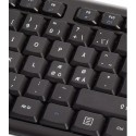Danske tegn - Wireless Office DesktopSet Nordic, trådløs mus og tastatur til kontoret,Sandberg