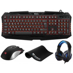 Gaming starter kit UK version 4i1 - Sandberg