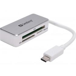 Memory card reader Sandberg multi USB-C