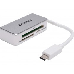 Memory card reader Sandberg multi USB-C