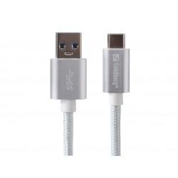 USB-C kabel, USB-C 3.1 til USB-A 3.0, 1 meter, Sandberg Excellence