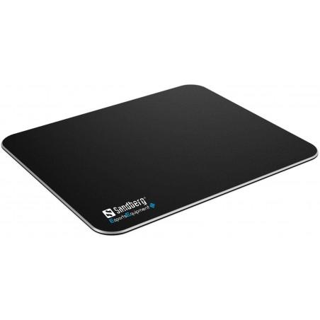 Hard aluminum gamer pad - rubbercoated high precision