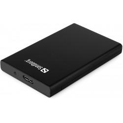"""2.5"""" Harddisk cabinet USB 3.0, Sandberg"""