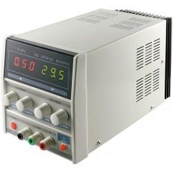 Strømforsyning variabel 0-30 volt,3A,med display