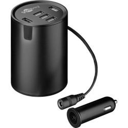 Opladning af mobil i bilen - Kopholder USB Power. Kopholder USB Power gør det nemt at oplade mobil i bilen. Høj kapacitet og hu