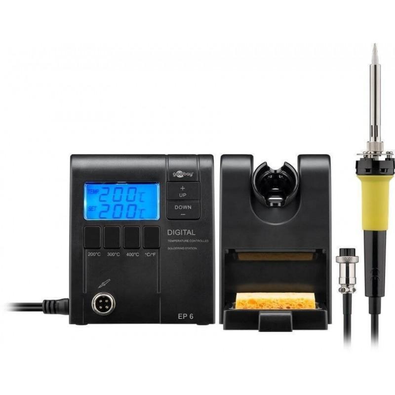 Loddekolbe - Digital loddestation med temperaturstyring EP6