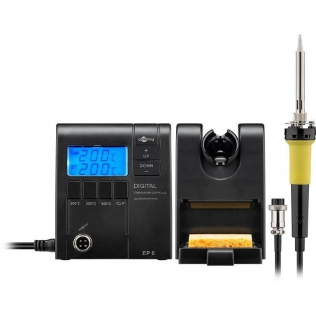Soldering iron, Digital soldering station with temperature control EP6