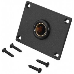 DIN socket 16A with mounting plate.