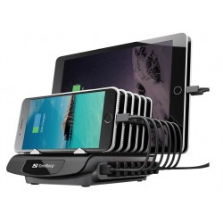 Multi USB Charging Station 7+1, Sandberg