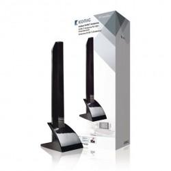 TV Stueantenne König DVB-T/T2 med 4G filter. DVB-T2 indendørs antenne stueantenne.