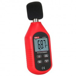 Compact digital sound level meter 30-130 dB