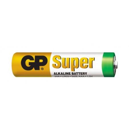 AAA Batteri 1.5 Volt - GP Super alkaline batteri AAA Løssalg