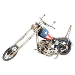 US Chopper motorcykel, model med patina og slidt råt look
