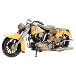 Indian motorcykel,model, godt brugt med patina