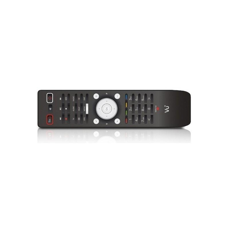 """VU + Remote Control """"New Design"""". Fits VU+ Solo, VU+ Duo, VU+ Uno, VU+ Ultimo, VU+ Solo², VU+ Duo², VU+ Solo SE and VU+ Zero."""