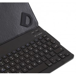 "Bluetooth keyboard case 9 - 10.5"". Bluetooth tastatur. Keyboard til tablets - med danske tegn - til en god pris"