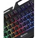 IronStorm gamer keyboard Nordic - stærk pris