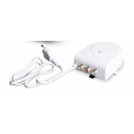 Strømforsyning for antenneforstærkere. 230 / 24 volt. 2 udgange.
