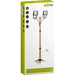 LED work lamp on adjustable stand. 2 x 20W LED