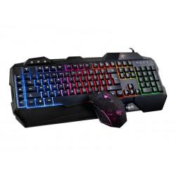 Gaming tastatur og mus Combo Nordic USB 2-i-1