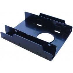 Harddisk skuffe til 2 x 2.5 tommer diske i en 3.5 tommer plads
