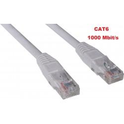 Netværkskabel CAT6 UTP LAN patchkabel 10 meter.